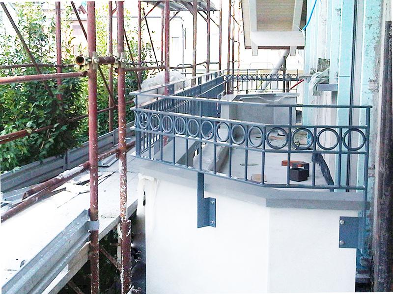 Parapetti in ferro per balconi terrazzi e scale - Fratelli Gussoni ...