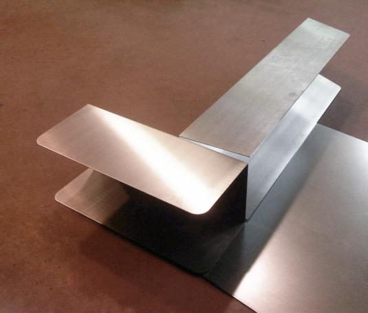 struttura in ferro per mobile salotto per divano, libreria - Fratelli Gussoni fabbro Cornaredo