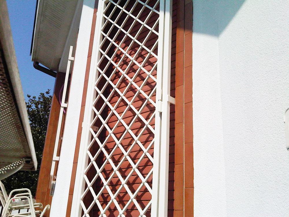grata bianca leggera diagonale antiladro