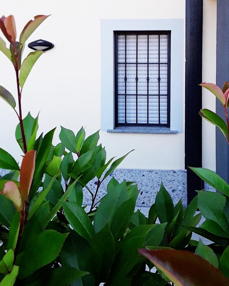grata in giardino piano terra antifurto sicurezza casa