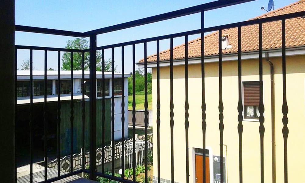 recinzione terrazzo appartamento villetta fratelli gussoni