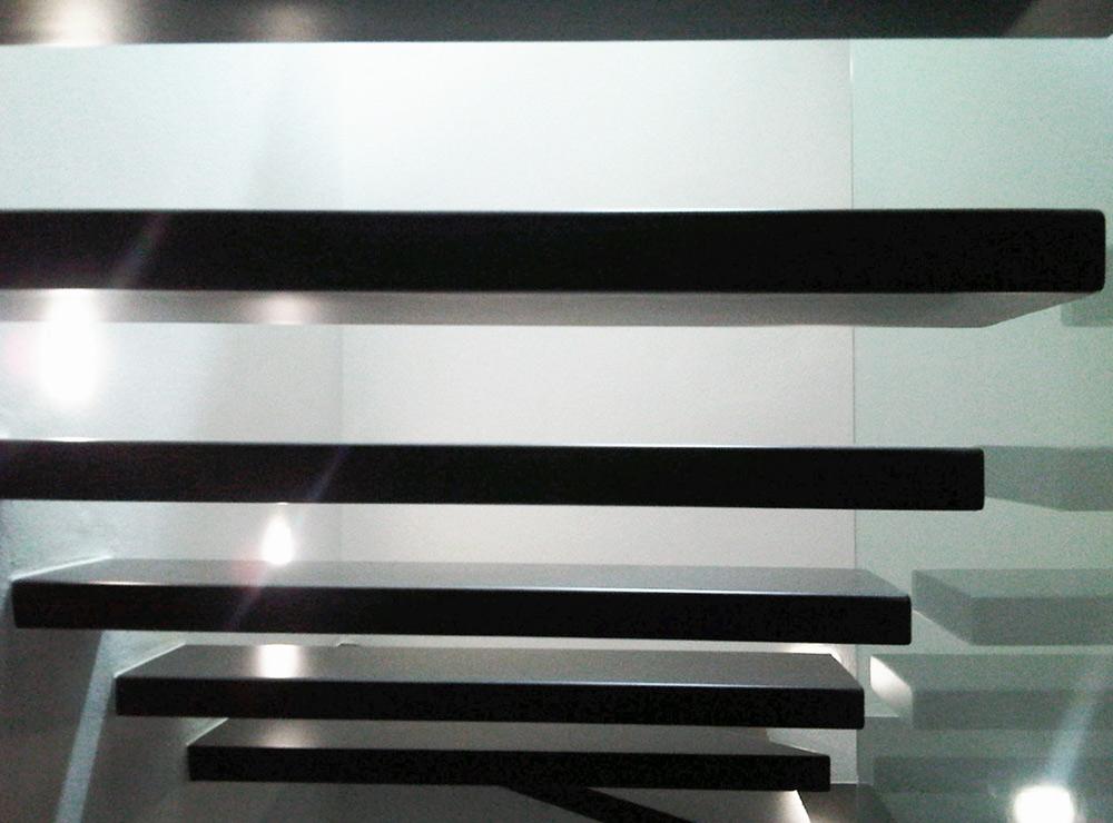vista gradino ferro fabbro design